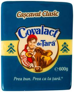 Cascaval clasic Covalact de Tara 600G