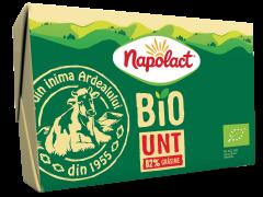 Unt bio 82% grasime Napolact Bio 180g