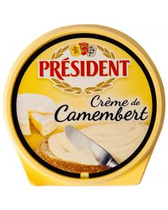 Crema branza Camembert President 125g