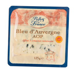 Branza Bleu d'Auvergne Reflets de France 125g