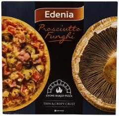 Pizza Prosciutto Funghi Edenia 345g