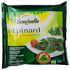 Spanac frunze intregi Bonduelle 750g