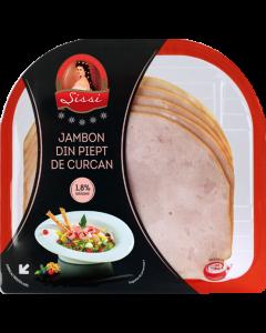 Jambon piept curcan 170g Sissi