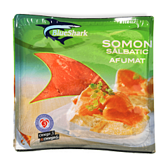 File somon salbatic afumat Blue Shark 100g