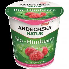Iaurt bio cu zmeura 3,7%grasime 150g Andechser