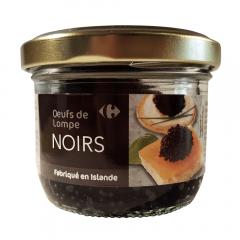 Icre lumpfish negru Carrefour 80g