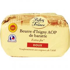 Unt Beurre d'Isigny AOP, nesarat 82% grasime Reflets de France 250g