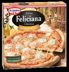 Pizza cu 4 tipuri de branza Feliciana 325g