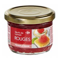Icre lumpfish rosu Carrefour 80g