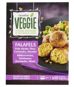 Falafel cu naut si fasole alba Carrefour Veggie 200g