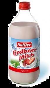 Lapte UHT cu capsuni 500ml
