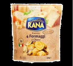 Paste Ravioli cu 4 tipuri de branza Rana 250g