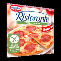 Pizza fara gluten cu salam Ristorante 315g