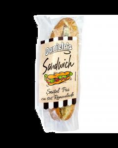 Sandwich snitel pui si sos Remoulade Daniela's 170g