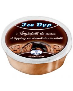 Inghetata de cacao si toping de ciocolata Ice Dyp Balas 2L