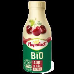 Iaurt de baut Bio cirese Napolact 230g
