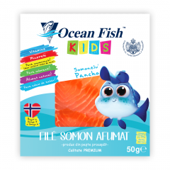 File de somon afumat Kids Ocean fish 50g