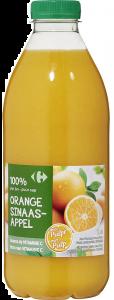 Suc portocala cu pulpa 1 l Carrefour