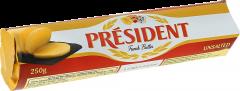 Unt nesarat 82%grasime baton President 250g