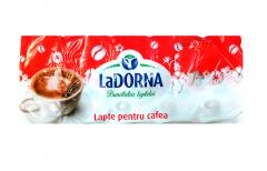 Lapte pentru cafea 10% grasime LaDorna 10x10ml
