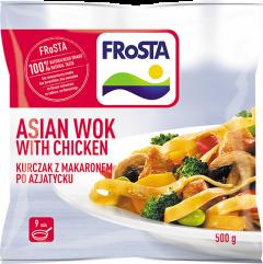 Amestec paste cu pui si legume in stil asiatic Frosta 500g