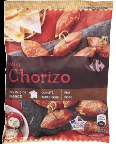 Mini salam Chorizo Carrefour 75g