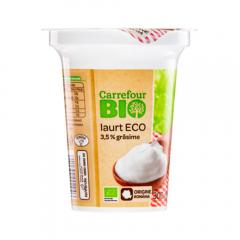 Iaurt Ecologic 3,5% grasime Carrefour Bio 300g