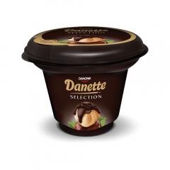 Budinca Selections cu ciocolata si alune de padure, Danette 165g