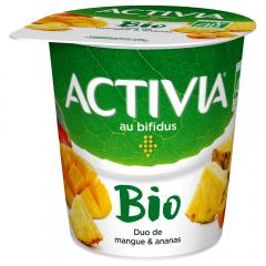 Iaurt Bio cu mango si ananas, 3,5% grasime Activia 145g