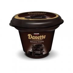 Budinca Selections cu ciocolata neagra, Danette 165g