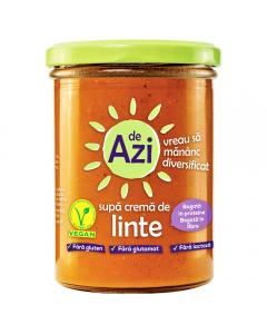 Supa crema de linte De Azi 390g