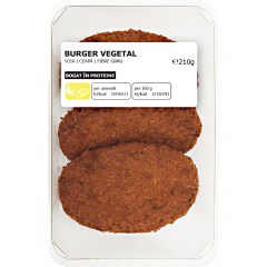 Burger vegetal 210g