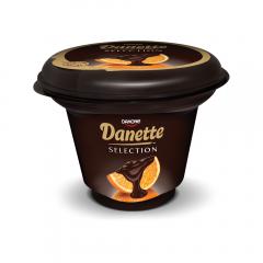 Budinca Selections cu ciocolata si portocale, Danette 165g