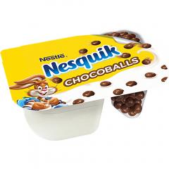 Iaurt cu bile de ciocolata Nesquik 120g