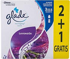 Rezerva Glade microspray lavanda 2+1 Gratis 3x10ml
