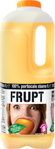 Suc natural portocale 1L Frupt