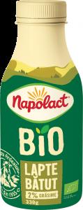 Lapte batut bio 2% grasime Napolact 330g