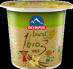 Iaurt Bio cu vanilie 3.1% grasime Olympus 100g