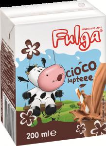 Lapte UHT cu cacao 1.5% Fulga 200ml