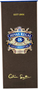 Chivas Regal Colin Scott Blended Scotch Whisky 18 years 0.7L