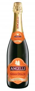 Vin spumant alb dulce Angelli Gran Muscato 0.75L