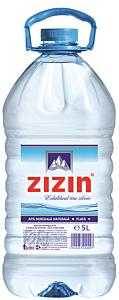 Apa minerala plata Zizin 5l
