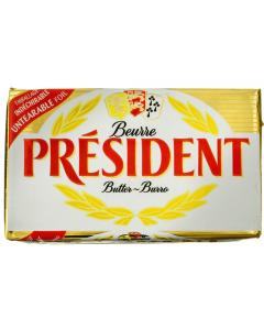 Unt President 82% grasime 250g