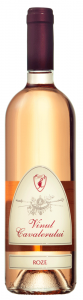 Vin rose sec Vinul Cavalerului 0.75L