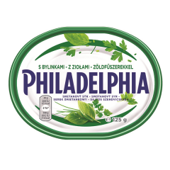 Crema branza cu verdeata Philadelphia 125G