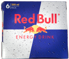 Bautura energizanta carbogazoasa Red Bull 6*0.25L