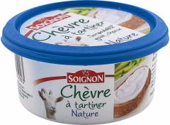 Branza de capra tartinabila Soignon Nature 150g