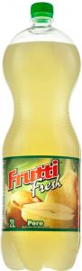 Bautura racoritoare carbogazoasa cu aroma pere Frutti Fresh 2 L