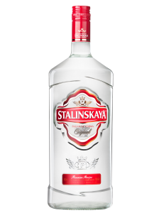 Vodka Stalinskaya 40% 1.75L
