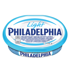 Crema de branza proaspata Philadelphia Light 125g